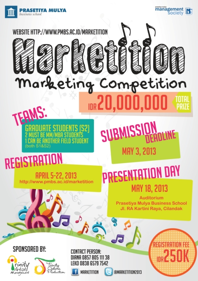 Marketing Plan Competition